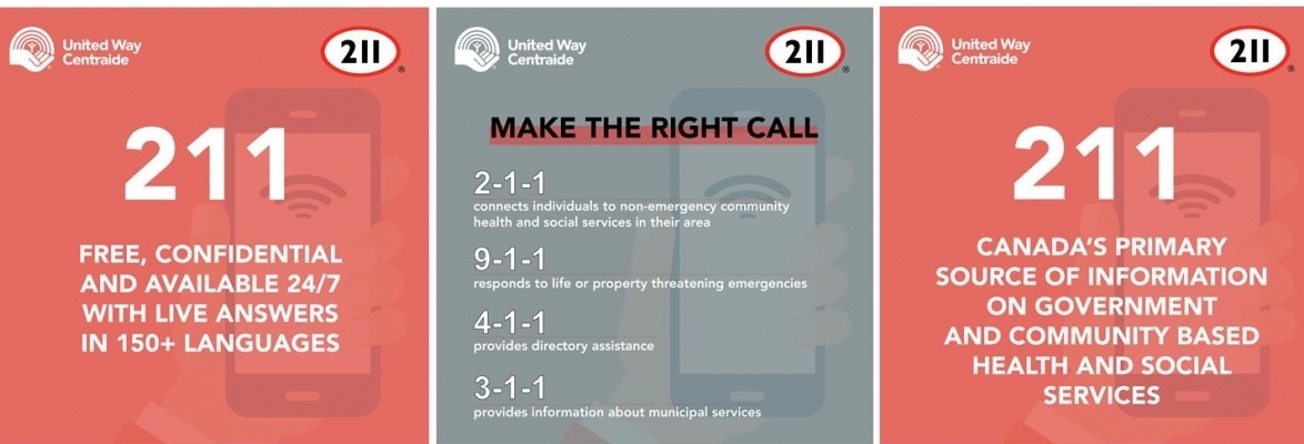 Call 211 when you don't know where to turn